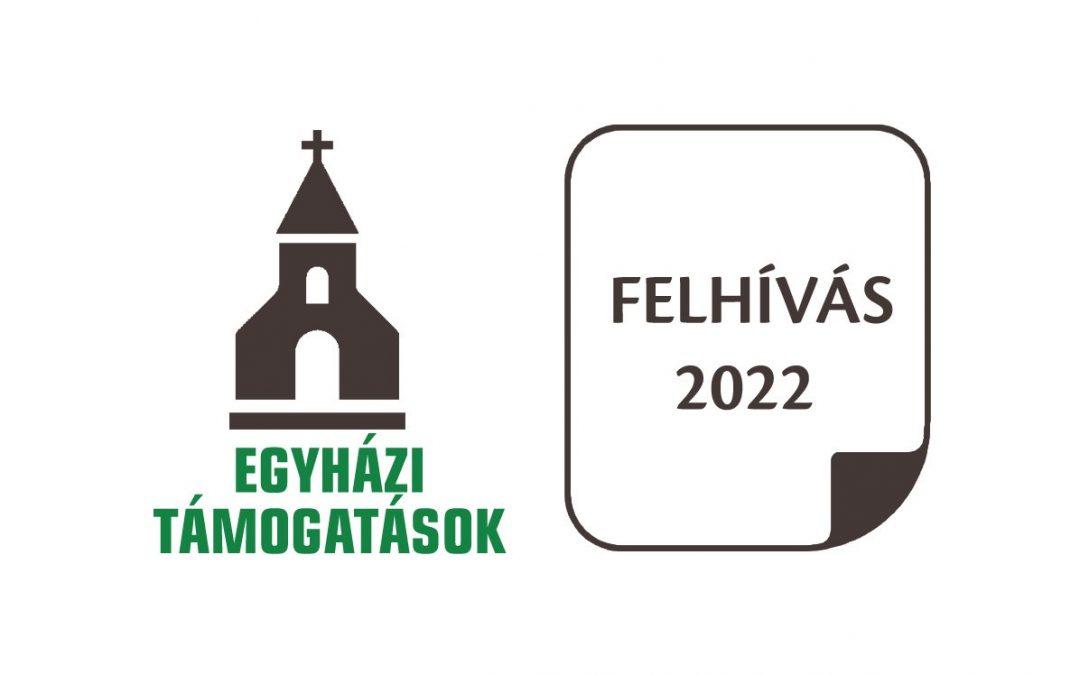 Megjelent a 2022. évi egyházi közösségi célú programok támogatási felhívása